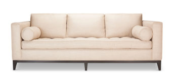 designer upholstered sofa