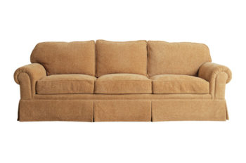 upholstered designer couch