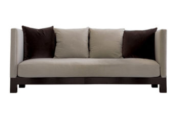 upholstered upscale sofa