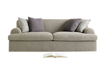 fine upholstered couch