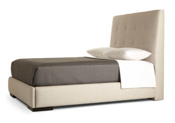 upscale bed furnishing