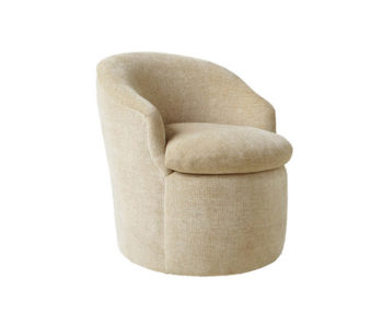 upscale upholstered lounge chair