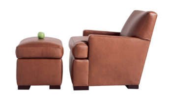 occasional lounge chair and ottoman