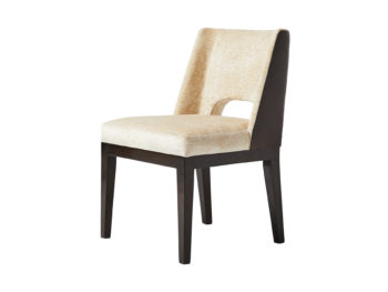 upholstered designer chair